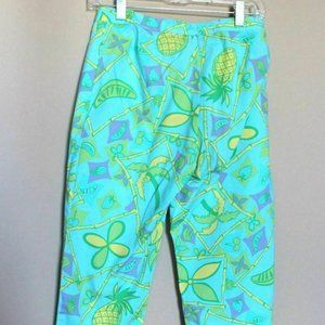 Lilly Pulitzer Pants Size 4 Pineapple Bamboo Palm